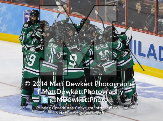 Minnesota Golden Gophers vs. North Dakota (2014 Men's NCAA National Semifinal)