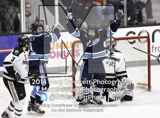 Maine Black Bears vs. Providence College Friars (2014 Hockey East Tournament Quarterfinal)