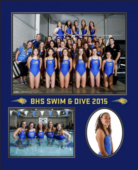 Brookfield Swimming Memory Mates & Senior Posters